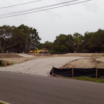 1701 - Clam Bayou - Pad Preparation